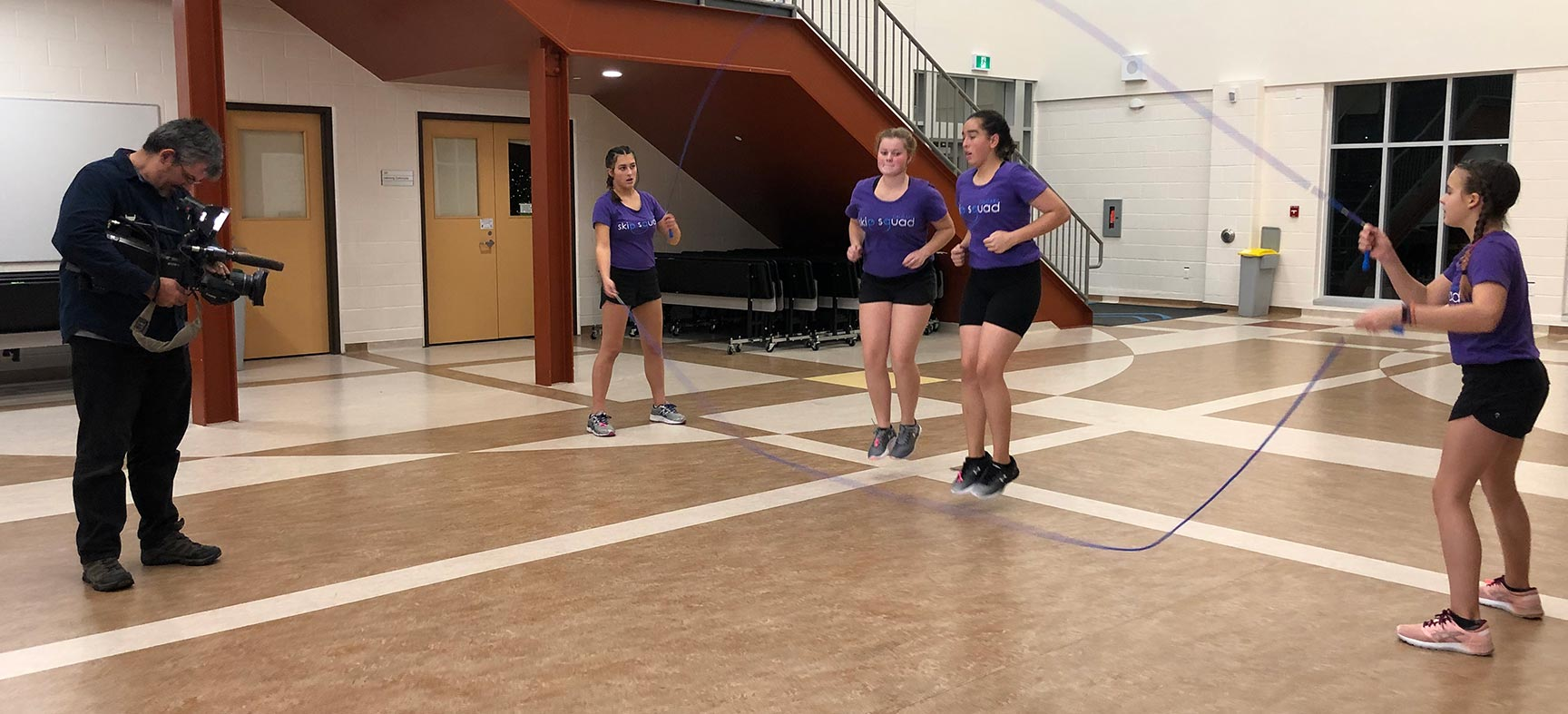 Rope skipping offers physical, emotional and social benefits to Calgary team
